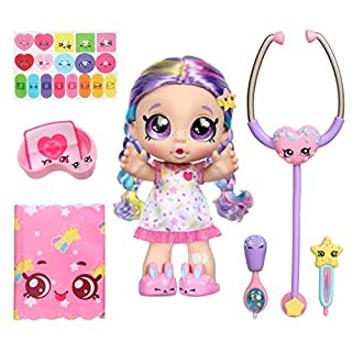 Kindi Kids Shiver 'N' Shake Rainbow Kate - Pre-School Play Doll - for Ages 3+ | Changeable Clothes and Removable Shoes for Imaginative Kids - 40+ Phrases & Sounds - Interactive Playtime