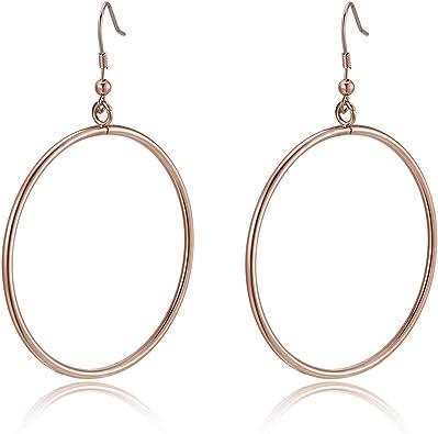 Niobium Ear Wires Lightweight Earrings Sensitive Ears Hypoallergenic Nickel Free Earrings Flower Earrings 3D Printed Earrings
