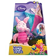 Disney Winnie The Pooh Plush Toy with Suction Cups PIGLET with Kite
