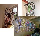 Dirza Bike Rack Garage 2 Pack Wall Mount Bike