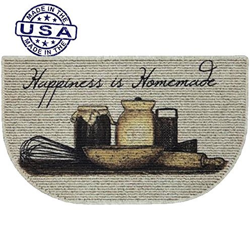 Slice Kitchen Rug - Mainstays Happiness Is Homemade Printed Slice Kitchen Mat (1)
