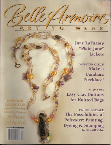 Belle Armoire Art to Wear (Mar/Apr 2005, Vol. 5, Issue - Miller Armoires