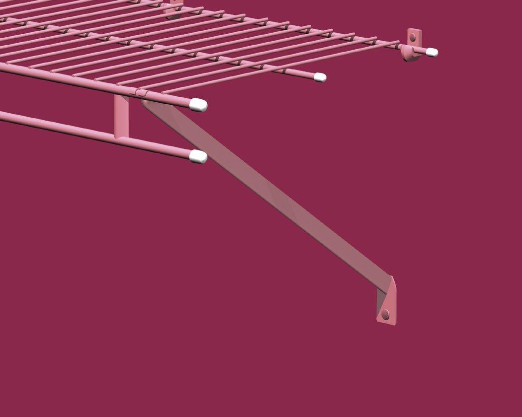 ClosetMaid Reihe 75355 Draht Regal Endkappen, 24 großen und 60 klein ...