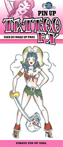 Pin Up Halloween Costumes Ideas (Pirate Pin Up Girl Tattoo Costume Accessory)