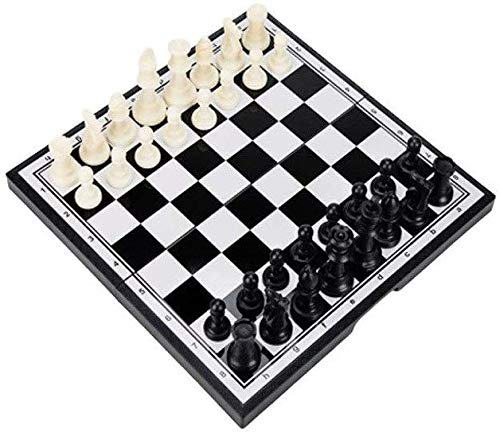 ATLT Ajedrez, juego de ajedrez plegable, portátil magnética ...