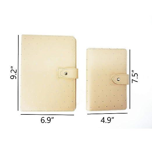 Amazon.com: harphia Lunares macaron Notebook Sweet Color ...