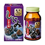 ORIHIRO Corbicula Extract Grain 120tablets concentrated freshwater clam extract by ORIHIRO
