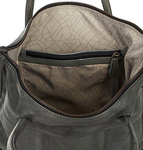 Voi leather design VOI kurzgrifftasche casual 21208 pelle bovina donna Nero