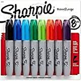 Set of 4, Assorted Sharpie Chisel Tip 8 Pack