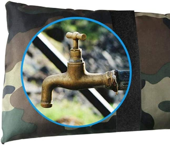 Black Blue Faucet Protective Sleeve For Winter Protective Protect Taps From Freezing CWeep Outdoor Faucet Cover Waterproof Tap Cover Socks Frost Protector