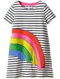 Girls Cotton Long Sleeve Dress