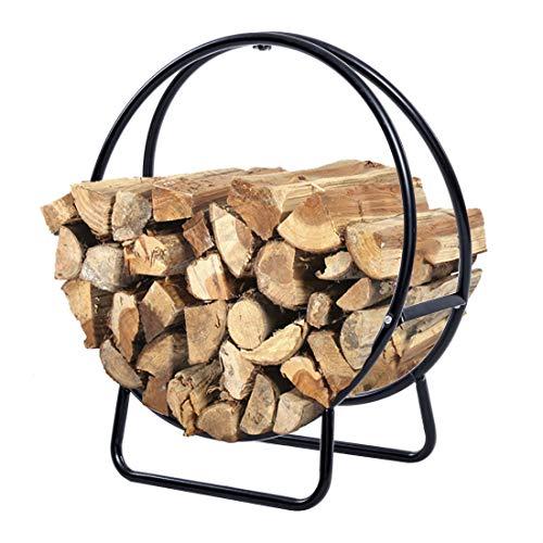 Log Steel Solid Hoop - 24