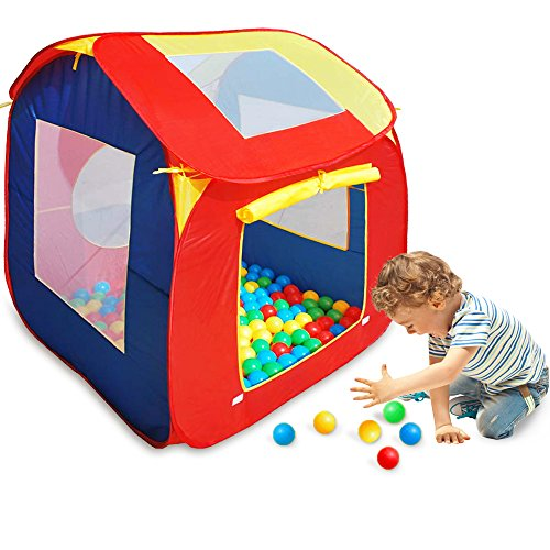 8630104da best Tienda de Juegos + 200 Bolas Casita Infantil Casa para Jugar Iglú Bebé  Niños para