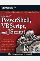 Microsoft PowerShell, VBScript and JScript Bible Paperback