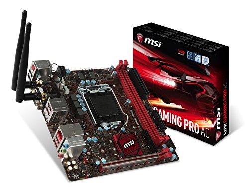 H270I GAMING PRO AC Desktop Motherboard - Intel H270 Chipset