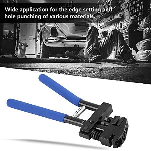 Edge Setter - Delaman Hand Joggler Panel Flanging Plier Edge Setter Hole Punch Sheet Metal Repair Welding 5mm