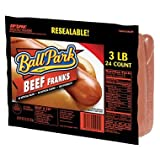Ball Park Beef Franks 3 Lb (2 Pack)