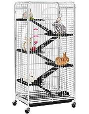 Yaheetech metalen kooien voor hamsters en kleine knaagdieren