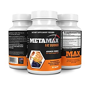 Metamax Weight Loss And Diet Pills -formulated With Garcinai Cambogia And Green Tea Extracts - All Natural One A Day Formula- Burn Fat Not Muscle And Lose Weight Fast Made In The Usa Under Full Compliance With All Appropriate Fda Regulations from Nutrimen