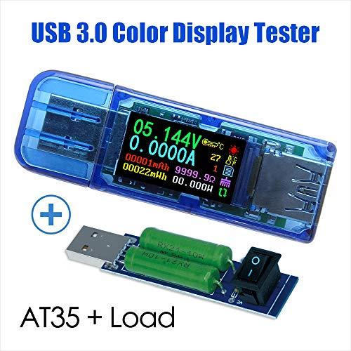 USB-Tester Strom Spannung Batteriekapazität Messgerät LCD DC 3V ~ 9V Neu Heiß