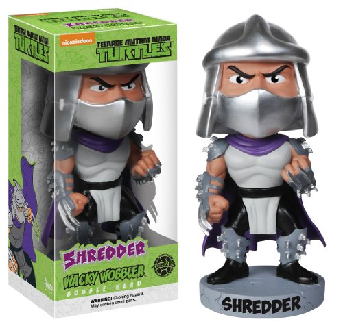Funko Teenage Mutant Ninja Turtles: Shredder Wacky Wobbler]()