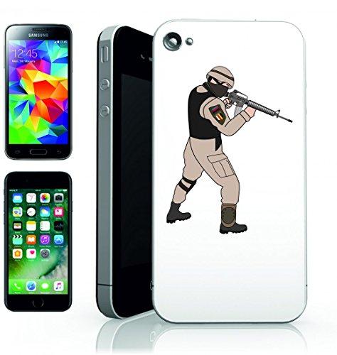 Smartphone Case Esercito del Battaglione della Battaglia di Poteri di arma della Fanteria di Guerra Soldato Militare Servizio persone Branch per Apple Iphone 4/4S, 5/5S, 5C, 6/6S, 7& Samsung Galax