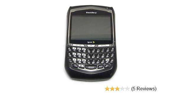 amazon com blackberry 8703e phone sprint pcs electronics rh amazon com BlackBerry Curve 8520 BlackBerry Curve 8530