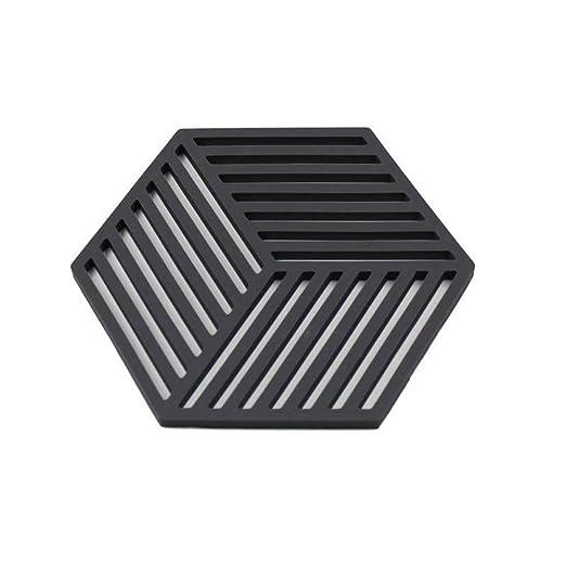 Elegante Taza de silicona Coaster Hexagonal Tapetes Alfombra con ...