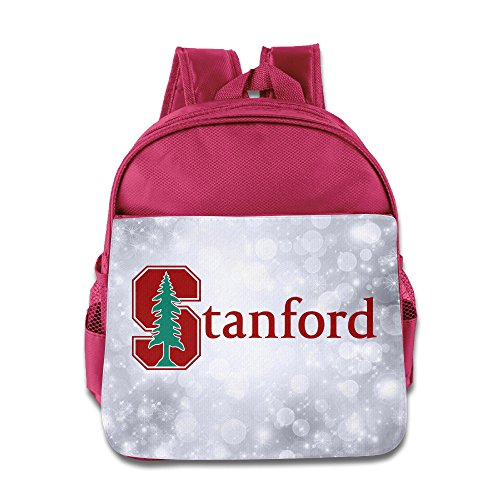 SAXON13 Kid's Lovely Pink Toys 150g Stanford University S Logo Bag
