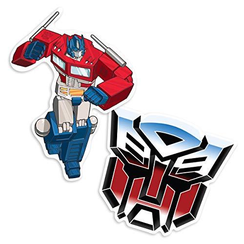 Popfunk Transformers Autobots Optimus Prime Collectible Stickers