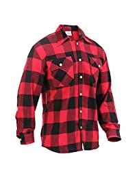 Rothco Lightweight Flannel Shirt - Red Plaid