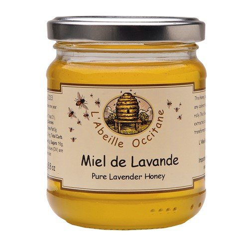 L'Abeille Occitane Lavender Honey (8.8 ounce) (Provence Honey Lavender)