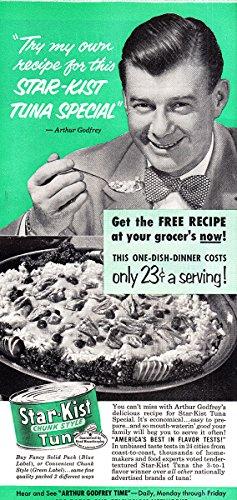 1952-star-kist-tuna-arthur-godfrey-starkist-print-ad