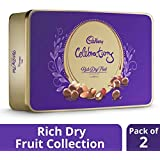 Cadbury Celebrations Rich Dry Fruit Chocolate Gift Box, 177g (Pack of 2)