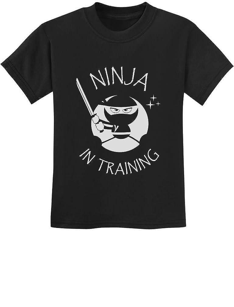 Tstars - Ninja in Training - Cool Children Clothing - Funny Kids T-Shirt