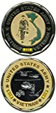 Army Vietnam Veteran Challenge Coin by Army Challenge Coins