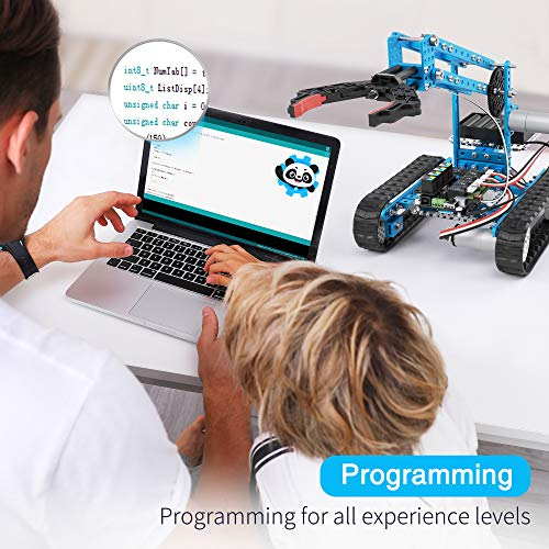 Makeblock DIY Ultimate Robot Kit - Premium Quality - 10-in-1 Robot - STEM Education - Arduino - Scratch 2.0 - Programmable Robot Kit for Kids to Learn Coding, Robotics and Electronics by Makeblock (Image #3)