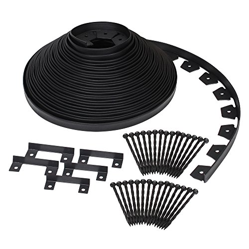 Dimex EasyFlex Plastic No-Dig Landscape Edging Kit, 100-Feet ()
