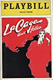 img - for Playbill, Palace Theatre: La Cage aux Folles, Vol. 2, No. 9, 1984 (George Hearn, Gene Barry) book / textbook / text book