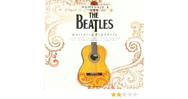 Coleccion Guitarra Homenaje The Beatles Cd: Vv.Aa.: Amazon.es: Música