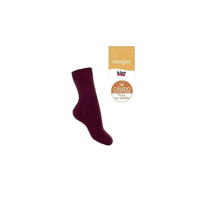 KLER 8338 - calcetin infantil algodon calido: Amazon.es: Ropa y accesorios