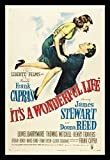 Old Tin Sign It's A Wonderful Life Jimmy Stewart Classic Vintage Movie Poster MADE IN THE USA