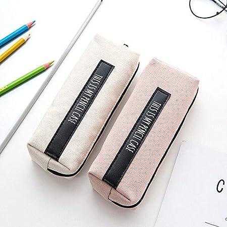 color Gris y azul para bol/ígrafos gris y rosa rosa y negro monederos 1 estuche para l/ápices color gris y azul cosm/éticos etc blanco y negro