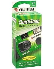 Fujifilm QuickSnap Flash 400 Disposable 35mm Camera (Pack of 2)