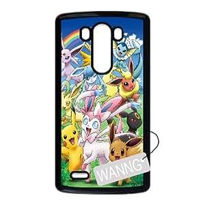 Pikachu LG G3 Hard Back Case, Pikachu Custom Case for LG G3 at WANNG