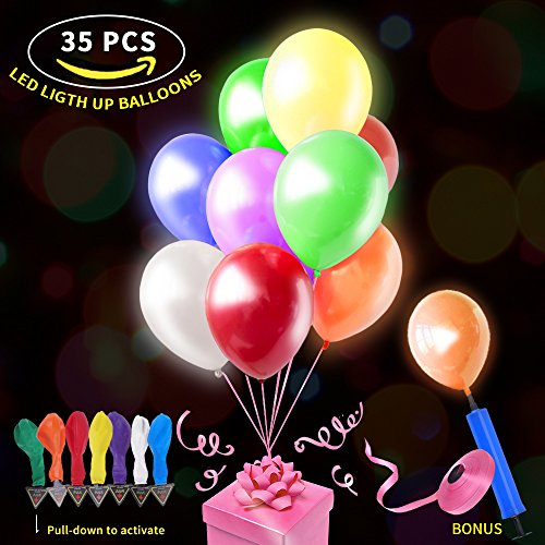 Helium Balloons With Led Lights - 6