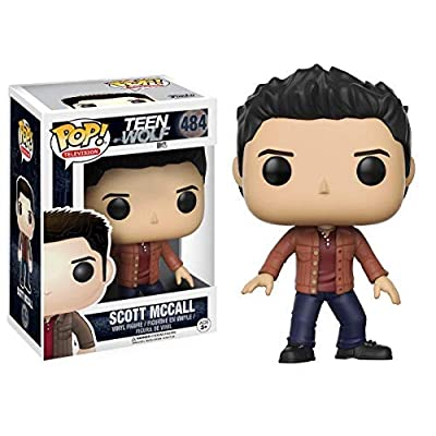 Nickelodeon Funko POP Television Teen Wolf Scott McCall Action Figure: Funko Pop! Television:: Toys & Games