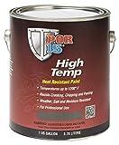 POR-15 44101 Black High Temperature Paint Flat - 1 gal