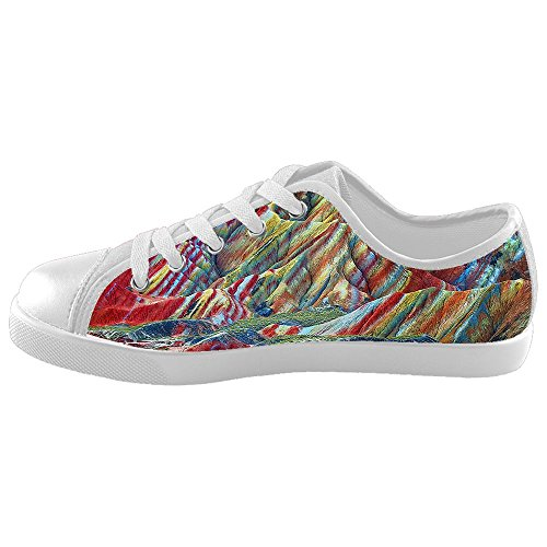 Daniel Turnai Fan Custom Kid's Shoes Mountains and Hills New Sneaker Canvas ()