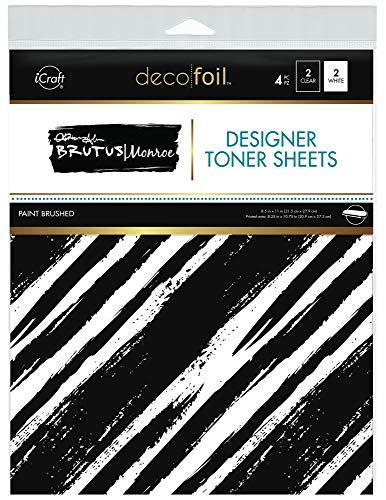 iCraft Deco Foil Designer Toner Sheets by Brutus Monroe, 8.5